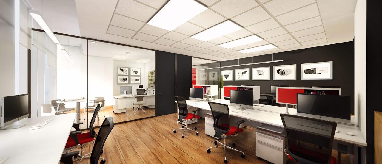 oficina en Chile Hikvision 1