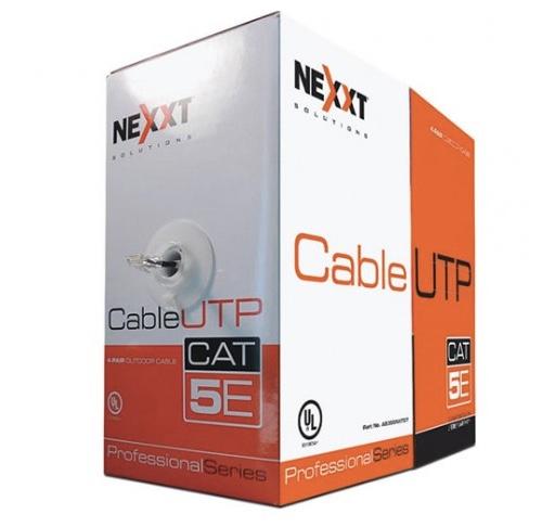 Nexxt- Cable UTP Cat5e en Bobina tipo CMX
