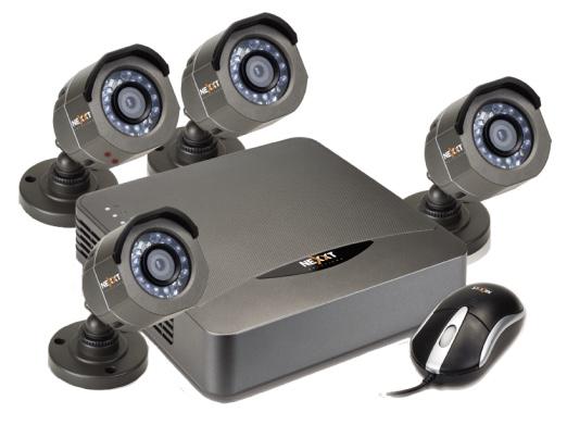 Xpy 4004-HD CCTV Kit-Nexxt