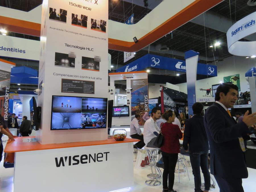 Hanwha Techwin Stand ExpoSeguridad Mexico 2018 1