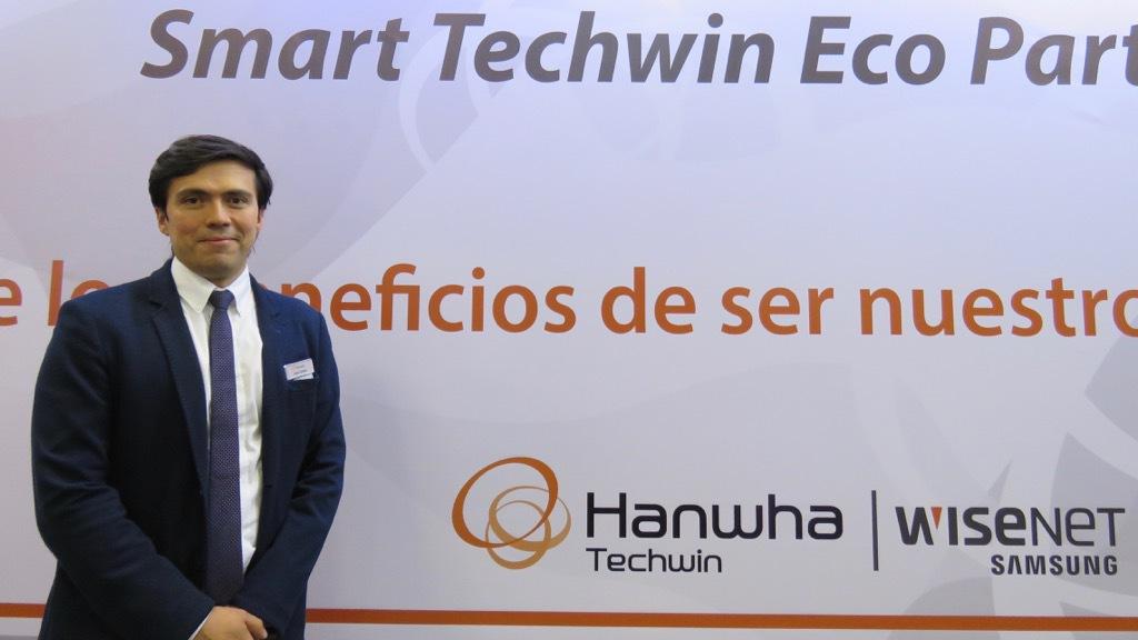 Jhayr Gomez Hanwha director de ventas para la region Andina ESS 2017