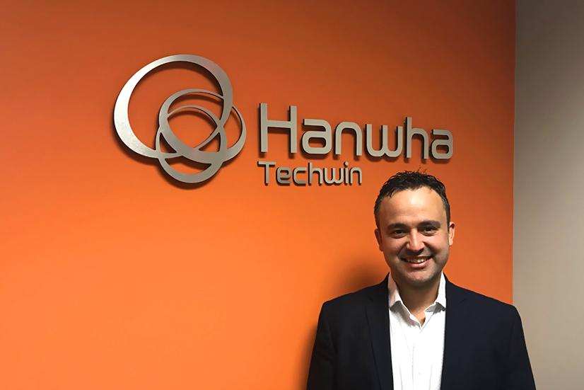 Omar Lugones Hanwha Techwin