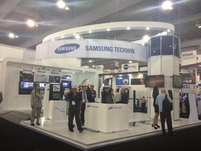 Stand-Samsung-Techwin-en-Expo-Seguridad-Mexico-2013