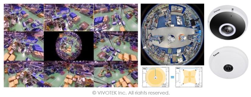 Solución de Vigilancia Industria Vivotek 3