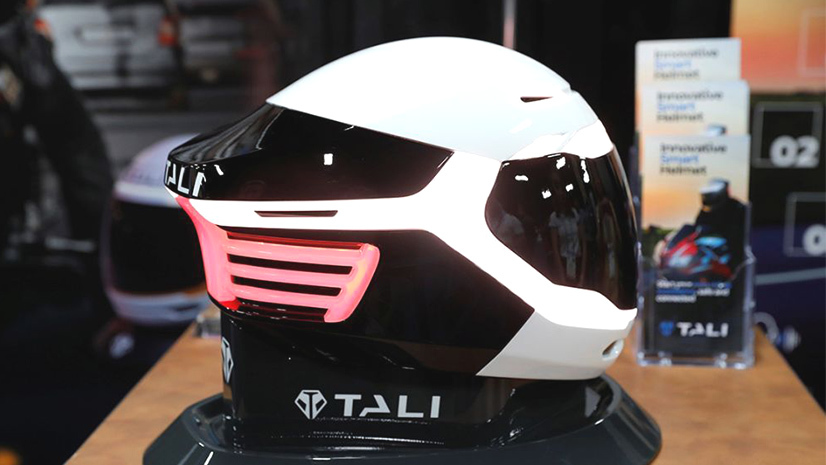 5 CES 2020 Tali casco inteligente
