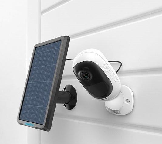 2 camara ip con panel solar mdulo aparte