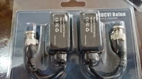 1 Video Balun pasivo HDCVI