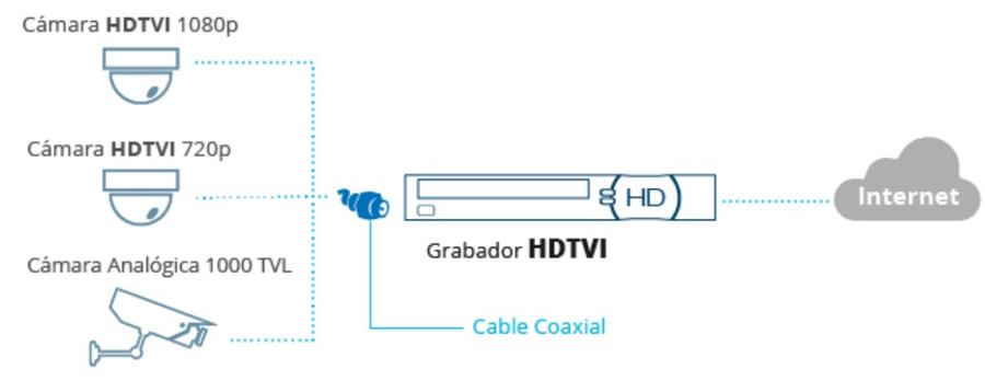9 Topologia comun HDTVI