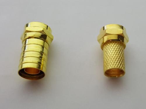 2 conectores de presion y rosca