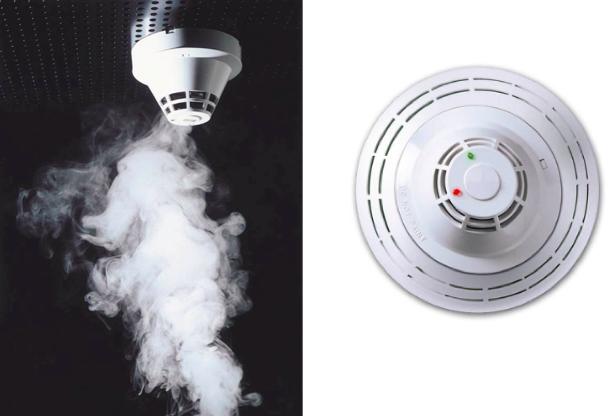 10 Detectores de humo automaticos
