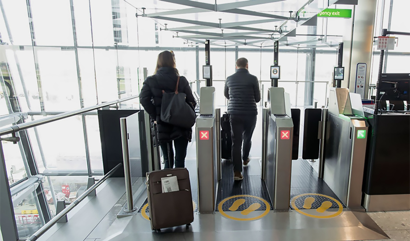 Unisys Biometria en Aeropuertos