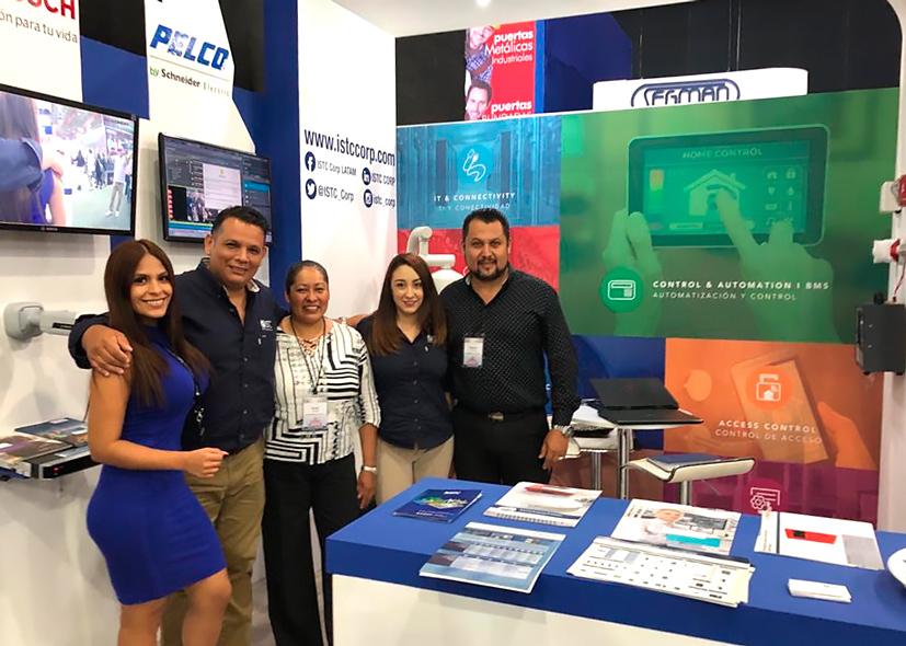 ISTC Feria Construccion Mexico Pelco Bosch 2