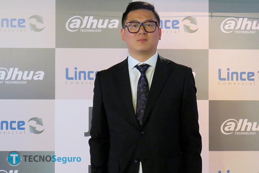 Carlos Wu country manager de Dahua Technology
