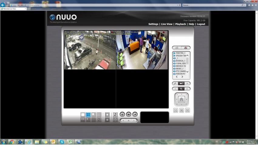 Software NVRmini2 NUUO