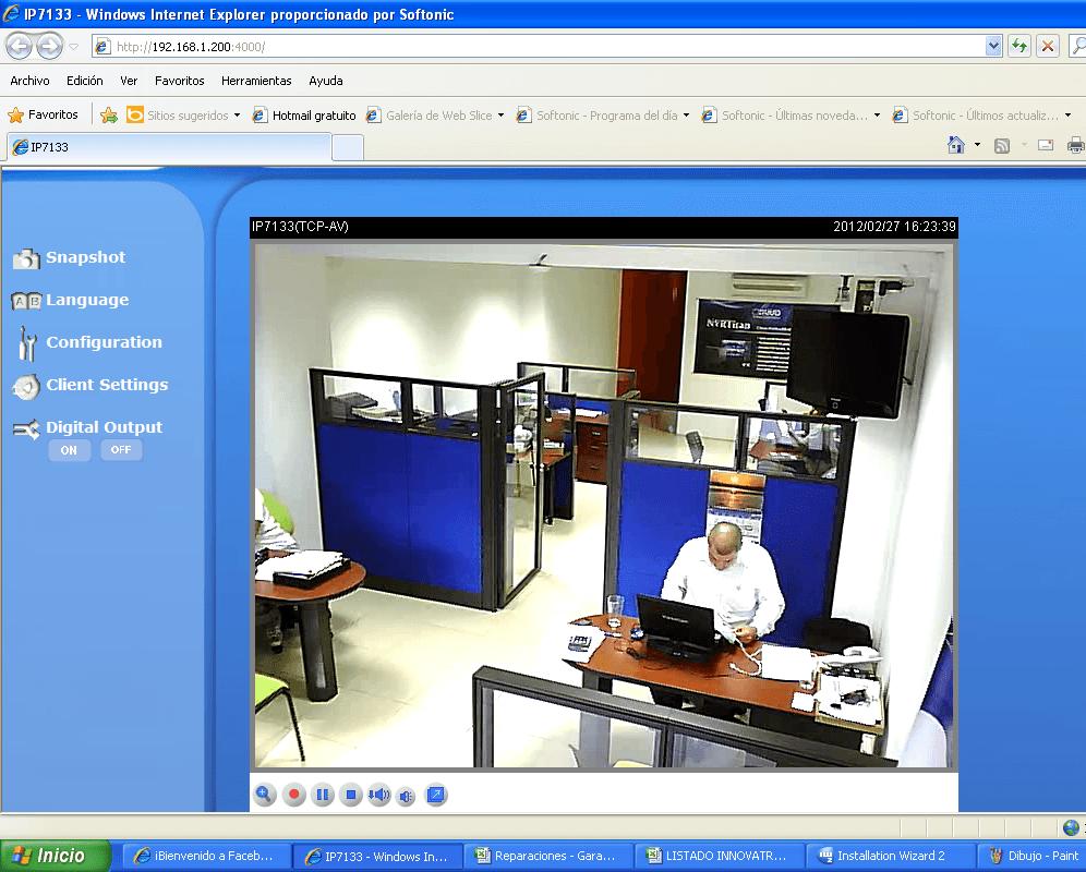 Camara IP Web