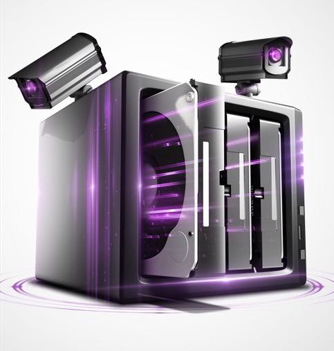 WD PURP purple 3