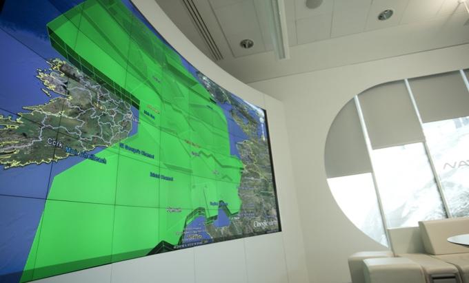 videowall map