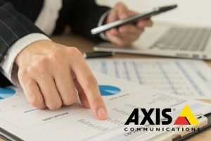Axis Communications reportó un crecimiento récord de ventas