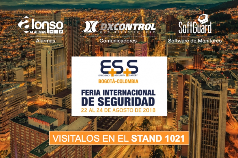 Alonso Alarmas nuevamente presente en E+S+S International Security Fair Colombia 2018