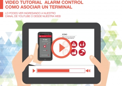 Video Tutorial sobre Alarm Control