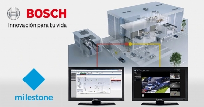 Bosch mejora la integración del Building Integration Software con Milestone, para incluir todas las versiones del XProtect