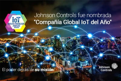 IoT Breakthrough elige a Johnson Controls como la compañía IoT del año en 2020