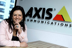 Alessandra Faria, Directora Regional de Axis Communications