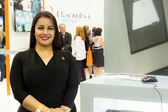María Fernanda Domínguez, líder del Channel Partner Program de Hanwha Techwin